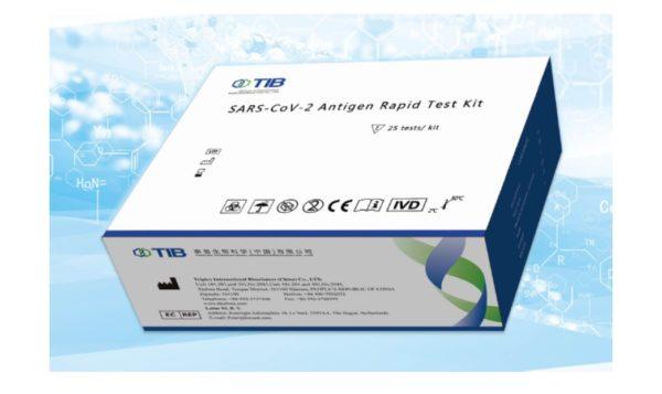 Zestaw do szybkiego testu antygenowego na COVID-19 (złoto koloidalne)